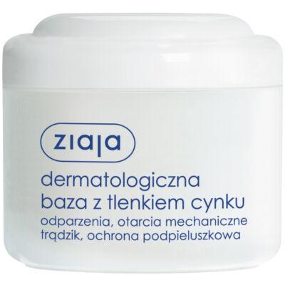 ZIAJA Bőrgyógyászati báziskrém cink-oxiddal 80ml