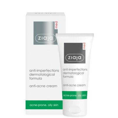ZIAJA MED antibakteriális bőrhibák elleni krém aknés, seborrhoeas bőrre