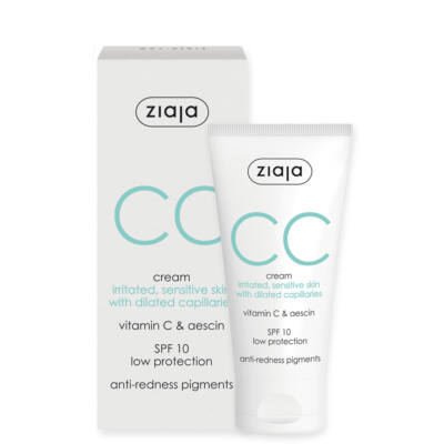 ZIAJA CC krém érzékeny, irritált, kitágult hajszáleres bőrre