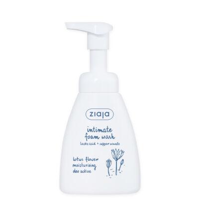 ZIAJA Hidratáló intim mosakodó hab lótuszvirággal 250ml