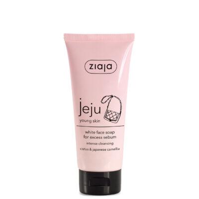 ZIAJA Jeju fehér arctisztító szappan