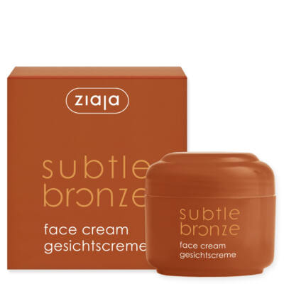 ZIAJA Subtle bronze önbarnító arckrém