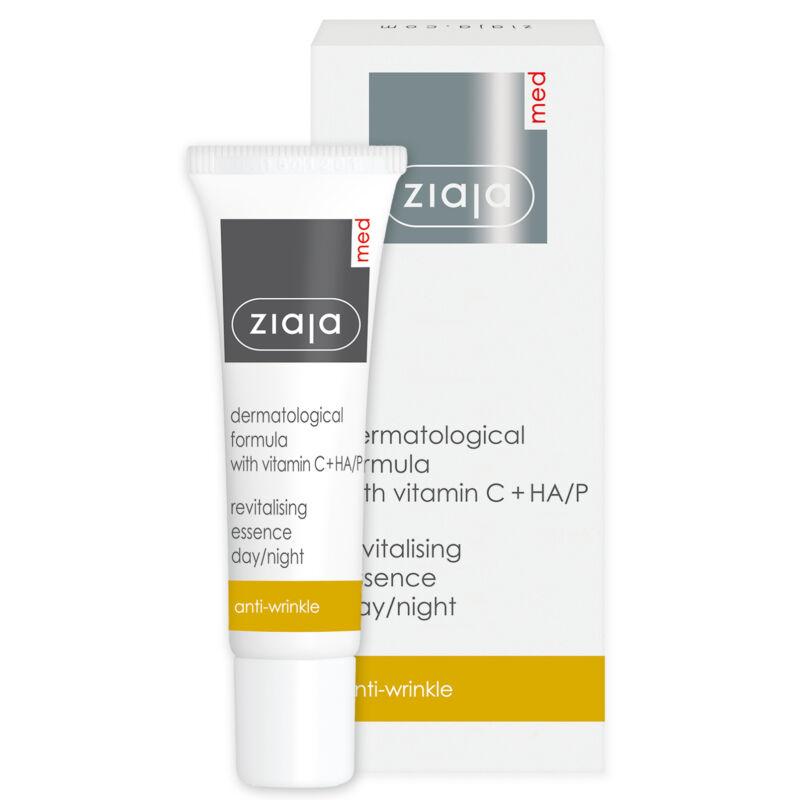 ZIAJA MED C-vitaminos ránctalanító revitalizáló szérum, dermatológiai kezeléshez