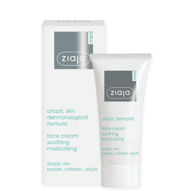 ZIAJA MED nyugtató, hidratáló arckrém atópiás bőrre