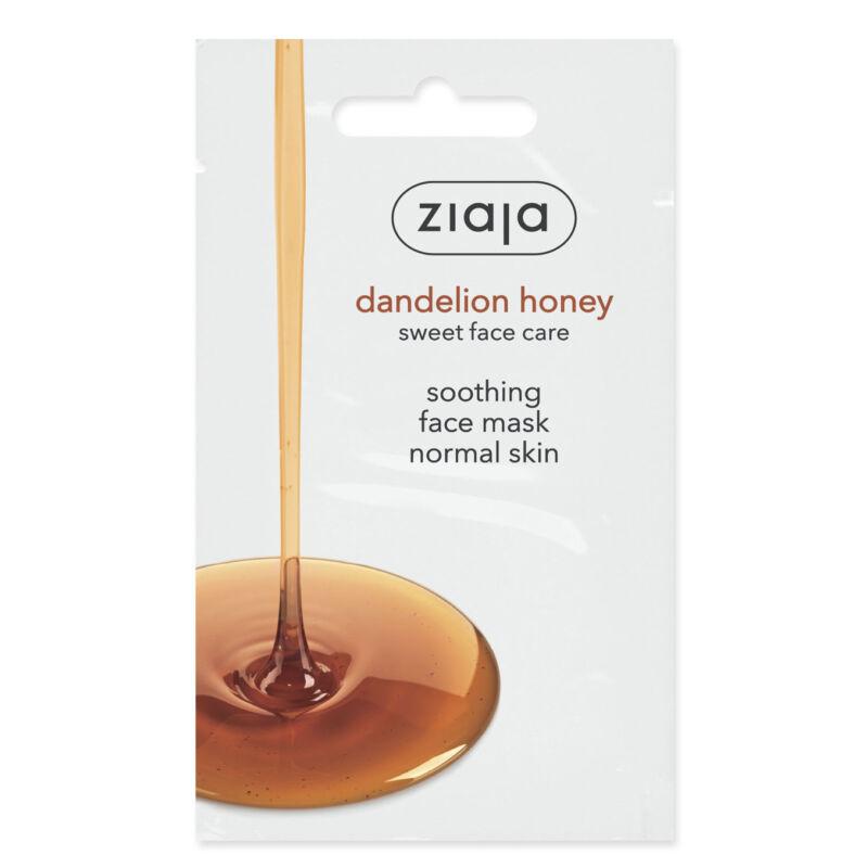 ZIAJA Pitypang mézes nyugtató arcmaszk normál bőrre