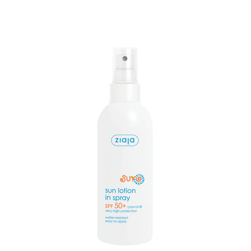 ZIAJA Napozó spray FF50+